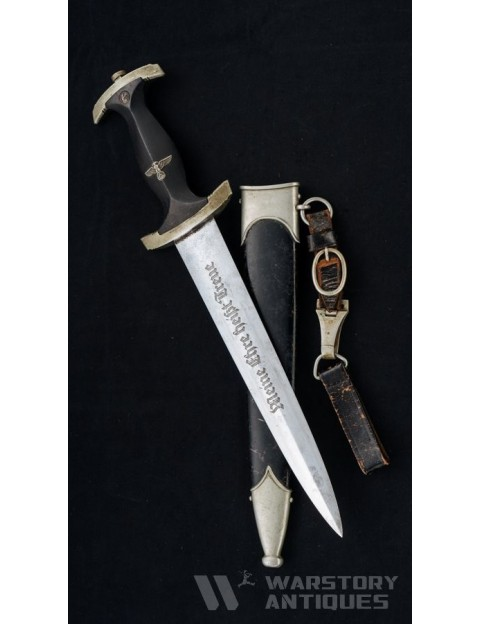 Early model SS dagger. Rich Abr Herder. Solingen